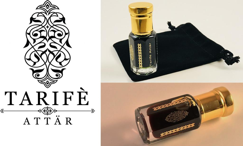 Some products of the brand new line of fragrant oils from Tarife Attar.