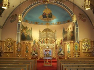 St. John's Carpatho-Russian Orthodox Church in Sharon, PA