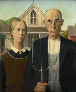 """""""Gothic American"""" is about as ordinary (if only a bit creepy) as ordinary gets!"""