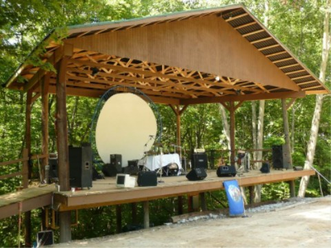Wisteria Stage
