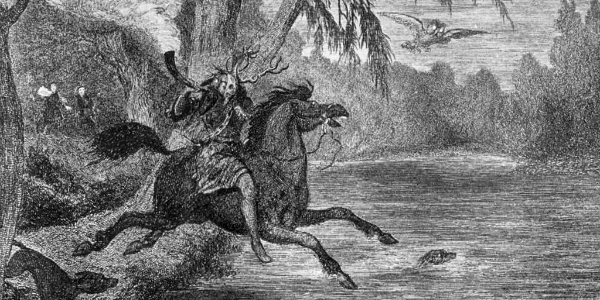 Herne on the Hunt by George Cruikshank. From WikiMedia