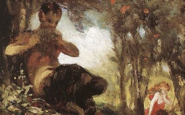 A Faun, by Pál Szinyei Merse, from WikiMedia.