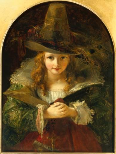 Chapeau de Brigand -painting 1839