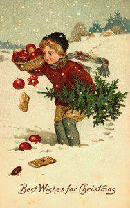 Vintage Christmas Card005