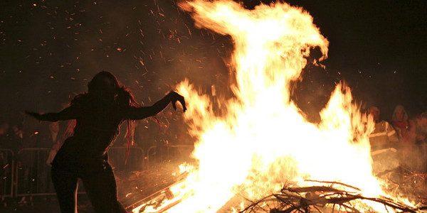 Edinburgh Beltane Fire Festival 2012 from Wikipedia Commons by Stefan Schäfer.