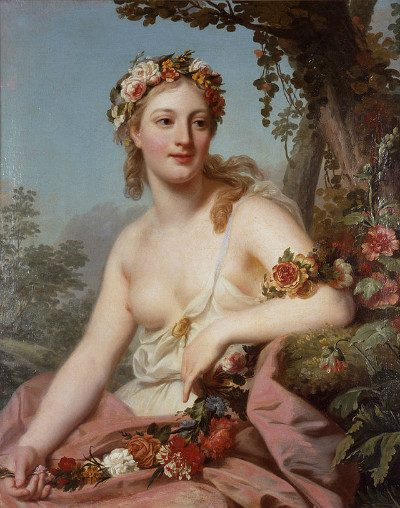 Flora by Alexander Roslin, from Wikipedia Commons.