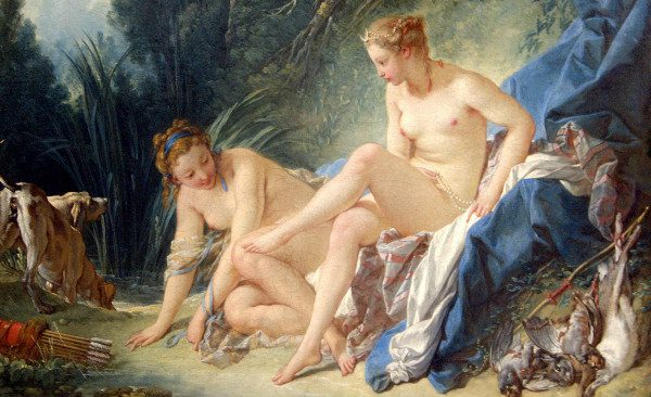 """""""Diana Leaving the Bath"""" by François Boucher, from Wikipedia."""