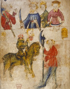 Gawain & The Green Knight, From WikiMedia Commons.