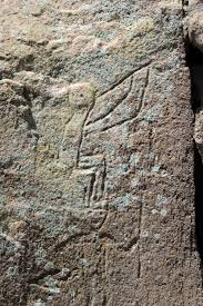 Kokopelli Petroglyph, photo by Paul Asman and Jill Lenoble, from WikiMedia.