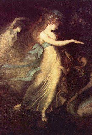 Prince Arthur and the Fairy Queen by Johann Heinrich Füssli, from WikiMedia.