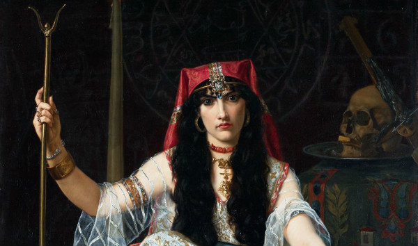 """""""The Sorceress"""" by Georges Merle, from WikiMedia."""