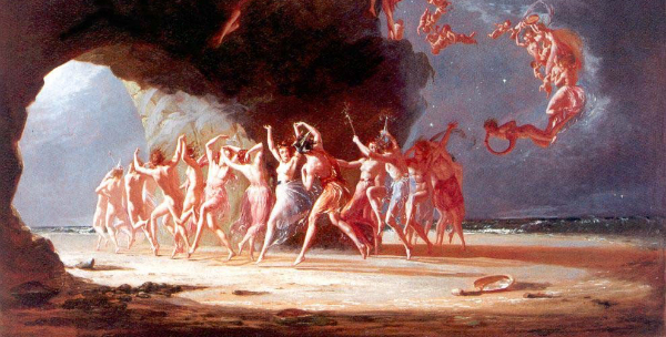 "Richard Dadd-""Come unto These Yellow Sands"" from WikiMedia."