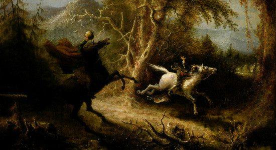 """The Headless Horseman"" by John Quidor. From WikiMedia."