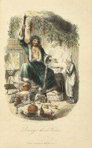 Christmas Present by John Leech. F rom WikiMedia.