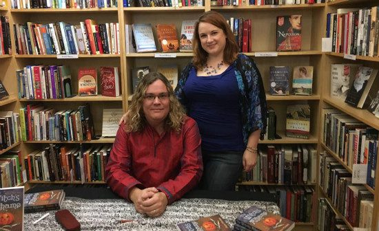 """The best """"perk"""" I've gotten from Paganism is that I got to marry this woman."""