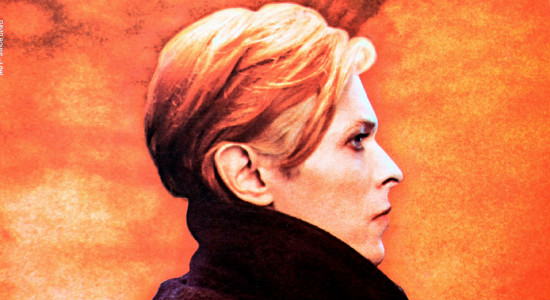 "Bowie on the cover of his 1977 album ""Low.""  Courtesy RCA Records."