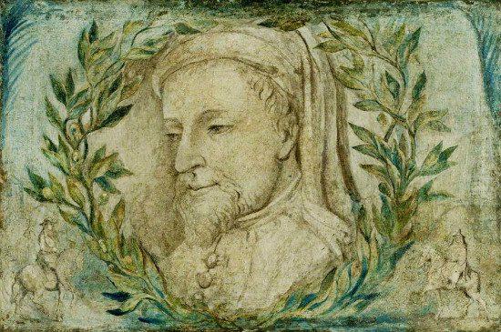 William Blake's Geoffrey Chaucer