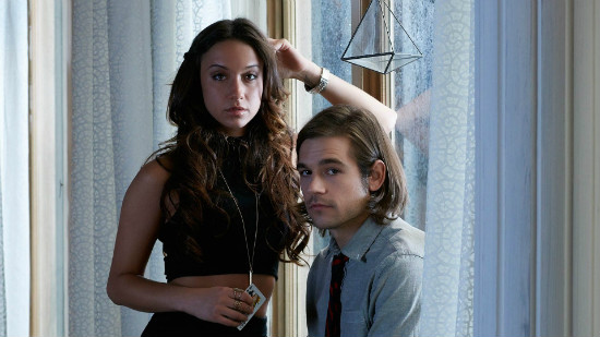Julia and Quentin, the show's main protagonists.