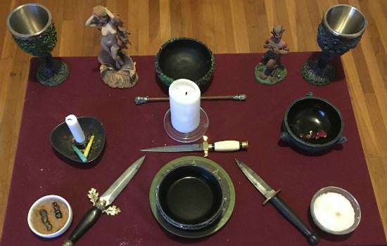 This is our main table altar.  I love this thing.
