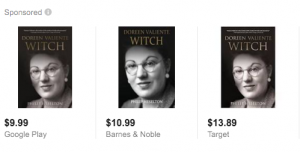 You can buy Doreen's biography at Target?  Yay?