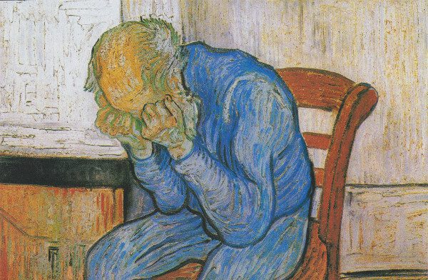 """""""Eternity"""" by Vincent Van Gogh.  From WikiMedia."""