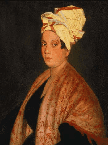 Alleged to be Marie Laveau.  From WikiMedia.