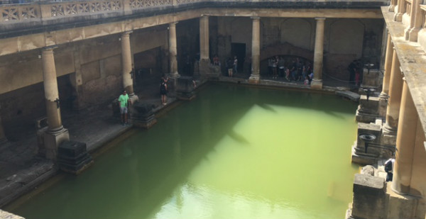 The Actual Roman Baths