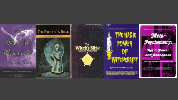 Some of the Frosts books.