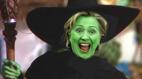 Image result for pic of witch hillary""
