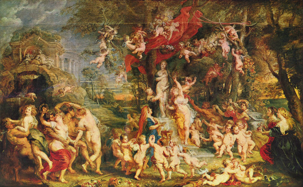 """The Veneration of Venus"" by Peter Paul Rubens.  From WikiMedia."