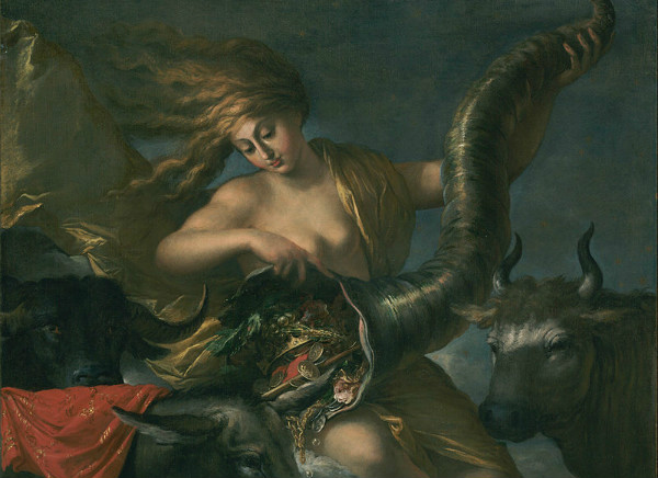 """Allegory of Fortune"" by Salvator Rosa.  From WikiMedia."