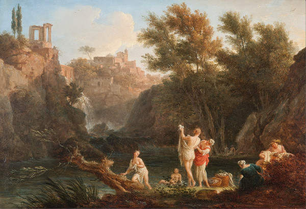 """""""Evening"""" by Claude Joseph Vernet.  From WikiMedia."""