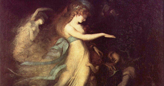 """Prince Arthur and the Faerie Queen"""" by Henry Fuseli. From WikiMedia"""
