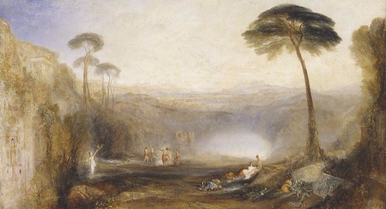 """The Golden Bough"" by J.M.W. Turner . From WikiMedai.  (This is better than looking at a book cover.)"