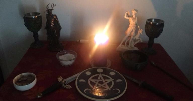 My altar.