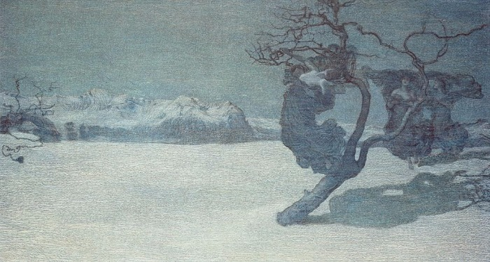 """""""The Bad Mothers"""" by Giovanni Segantini.  From WikiMedia."""