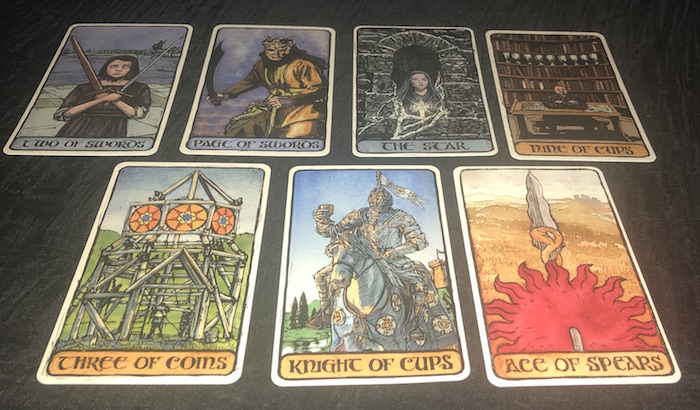 The Game of Thrones Tarot: A Review | Jason Mankey