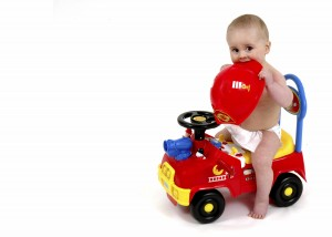 child firetruck