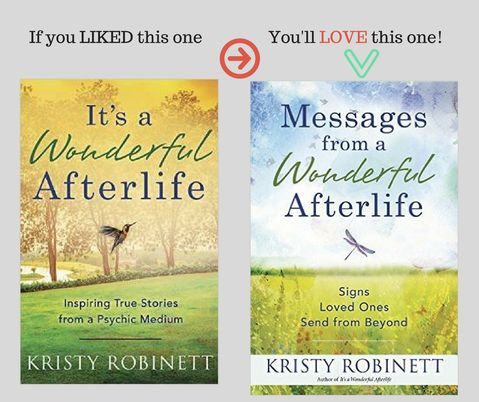 Messages from a Wonderful Afterlife is NOW available.
