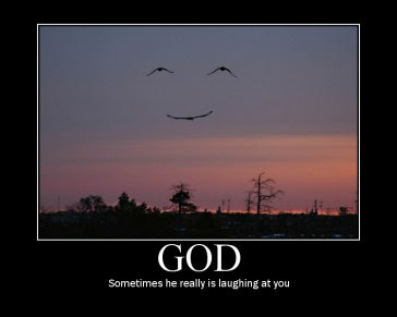 God laughing