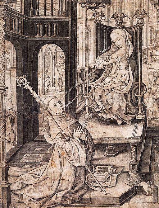 Lactaton of St. Bernard
