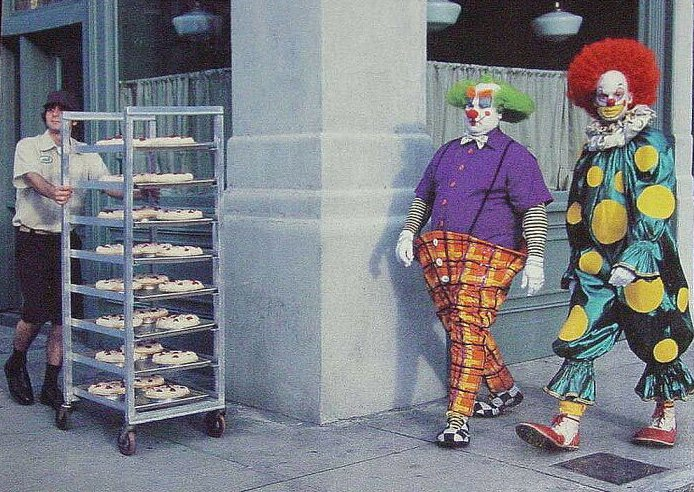 clowns and karma