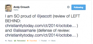 andy crouch tweet
