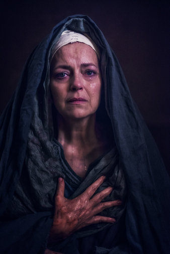Greta Scacchi Is Mother Mary