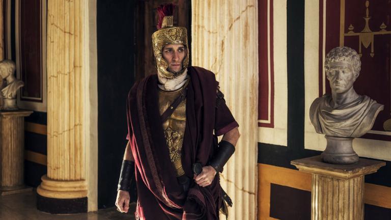 Michael Peluso Is Agrippa