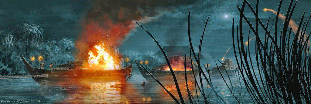 exodus - SET 012_EXT_BURNING_BARGES