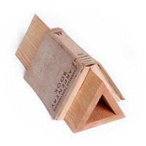 triangle book stand