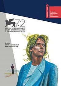 This year's poster for the Venice Film Festival