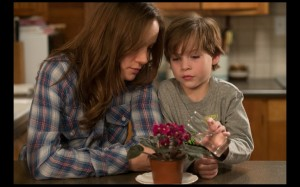 """Brie Larson and Jacob Tremblay, in a scene from """"Room,"""" directed by Lenny Abramson and released Oct. 16, 2015. (Caitlin Cronenberg/courtesy of A24)"""