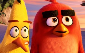 "Chuck, voiced by Josh Gad, and Red, voiced by Jason Sudeikis, appear in the animated movie ""The Angry Birds Movie."" (CNS/Sony)"